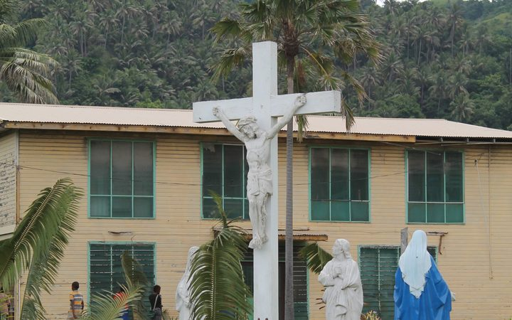 Christianity is the major religion in most Pacific Island countries.
