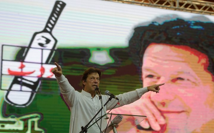 Imran Khan's PTI Crosses 100 Mark, Leads in 107 Seats