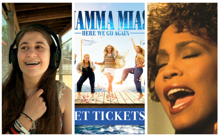I Used to Be Normal, Mamma Mia, Here we go again and Whitney