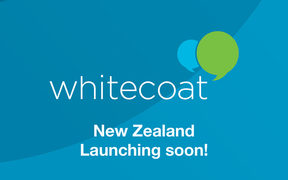 Social media promotion from doctor rating website Whitecoat ahead of its New Zealand launch.
