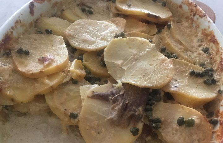 Porcini Scalloped Potatoes