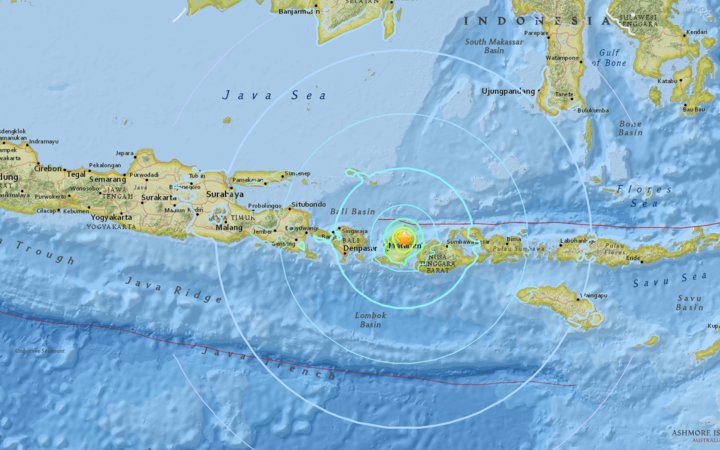 Malaysian woman among 10 killed in strong quake jolting Indonesia island Lombok