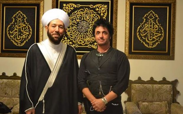 Warren Marriner met with Syria's Grand Mufti Sheikh Ahmed Badreddin.