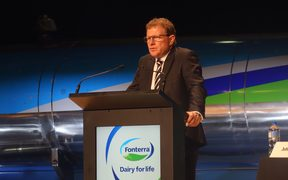 Fonterra chairman John Wilson says farmers want swimmable rivers too.
