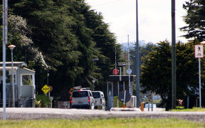 Whenuapai Air Base entrance