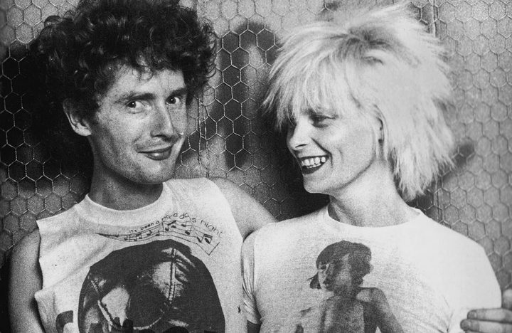 Malcolm McLaren and Vivienne Westwood in 1976