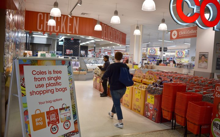 Coles Backflips on Bag Ban