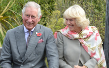 Prince Charles and his wife, Camilla, visited the Orokonui Ecosanctuary as the last event of a busy day in Otago.