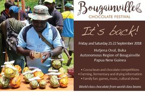 Bougainville chocolate festival