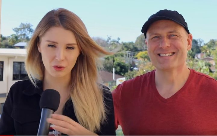 Lauren Southern and Stefan Molyneux.