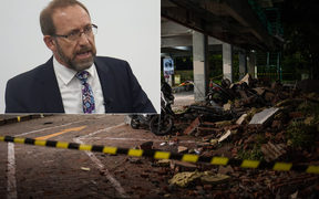 Justice Minister Andrew Little was in Indonesia when a magnitude 7.0 earthquake hit Lombok.