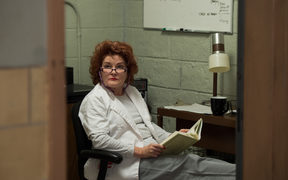 "Kate Mulgrew as ""Red'"