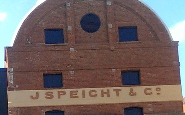 Speights' brewery in Dunedin.