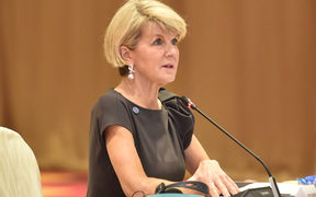 Australia's Foreign Minister Julie Bishop.