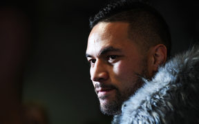 New Zealand heavyweight boxer Joseph Parker during a press conference at promoters Duco, Auckland, New Zealand. Tuesday 7 August 2018.