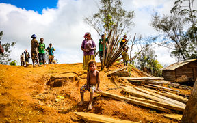 The earthquake disaster has left many Highlanders facing an uncertain future.