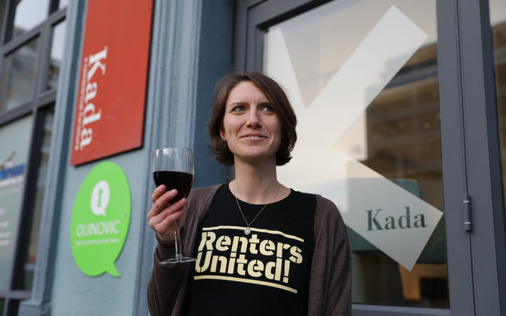 Renters United spokesperson Kate Day. Photo /Rebekah Parsons-King