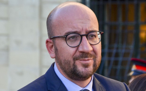 Prime Minister of Belgium Charles Michel arrives in La Valletta for the European Union - Africa Summit on Refugee crisis