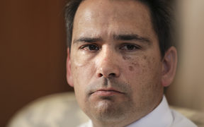 National Party Leader, Simon Bridges.