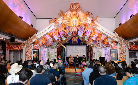 The Pacific Arts Summit in March 2018