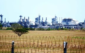 An ExxonMobil LNG Project plant near Port Moresby, Papua New Guinea.