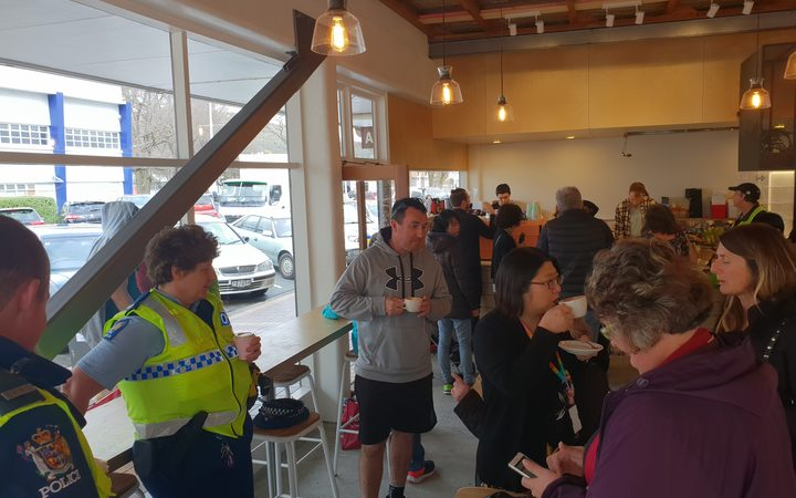 A cafe is opening in the Lower Hutt suburb of Naenae to help provide full-time employment for some inmates after their release.