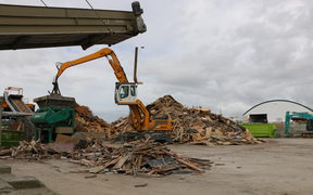 Commercial waste made up about 85 per cent of what was sent to Auckland landfills every year, says Associate Environment Minister Eugenie Sage.