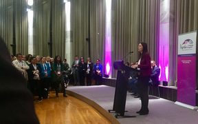 Prime Minister Jacinda Ardern opened the government's Criminal Justice Summit.