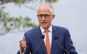 Australia's Prime Minister Malcolm Turnbull in Sydney on May 2, 2018.