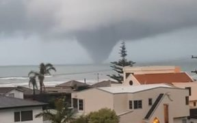 The New Plymouth tornado struck the Belt Road, Gaine Street and Cutfield Road area at 4.50pm yesterday.