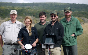 Aeronavics with Amakhala Team at Amakhala game reserve