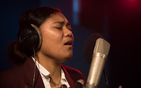 Silika Isaia is 17 and in year 12 at Papatoetoe High School. She is one of the finalists in the annual secondary schools competition, Stand Up, Stand Out.