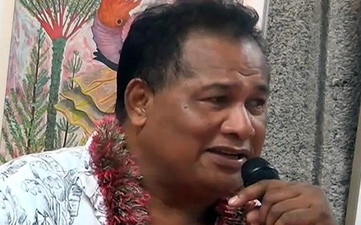 Chuuk Political Status Commissioner, Sabino Asor