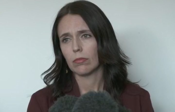 Premier Jacinda Ardern announces the removal of Clare Curran from the cabinet.