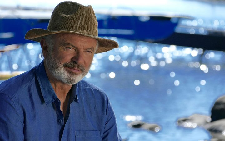 "Sam Neill says ""Uncharted with Sam Neill"" was the greatest adventure of his life."