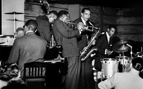 Clifford Brown (tpt) & Max Roach (dms)