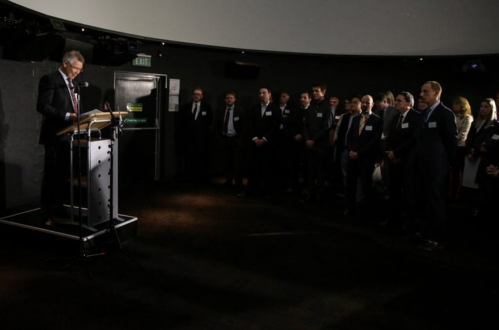The Minister of Economic Development, David Parker, gave the Announcement known at the Carter Observatory in Wellington along with scientists.