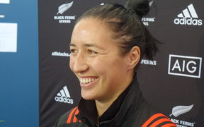 Black Ferns captain Sarah Goss qt the announcement ib 28 August of a four team tournament to coincide with the World Sevens in Hamilton in January
