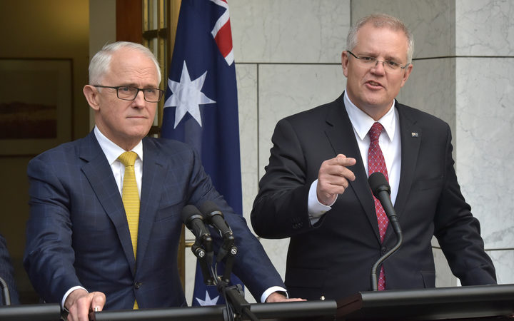 Treasurer Scott Morrison was picked as Australia's new prime minister, replacing Malcolm Turnbull, after a Liberal party coup in a stunning upset against key challenger Peter Dutton.