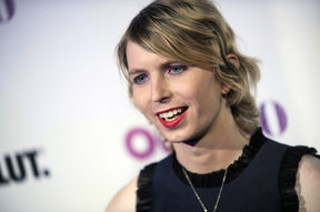 Chelsea Manning at the Out100 Event in New York, 2017.