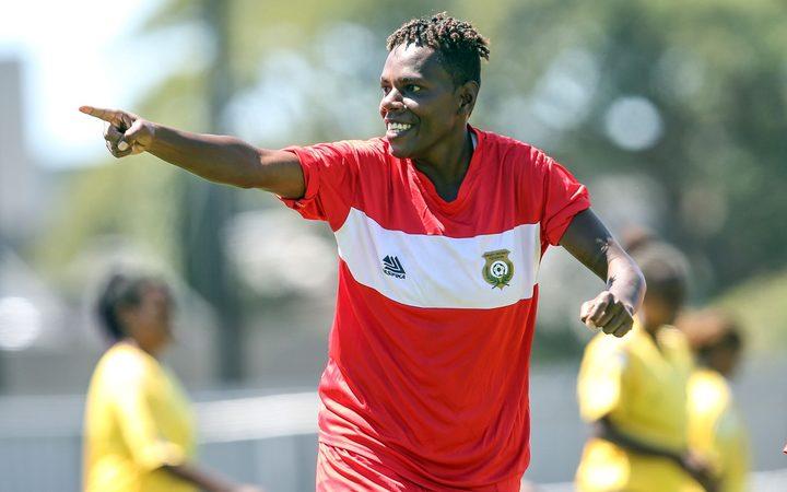 Vanuatu's Leisale Solomon scored the winning goal.