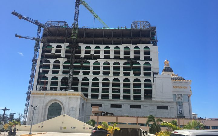 Saipan'sstill to be finished casino resort