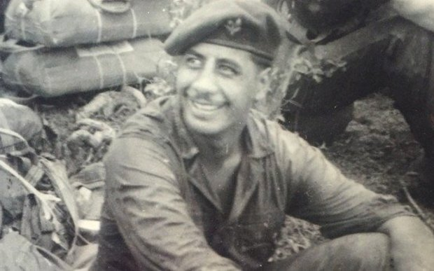 Paul Thomas' brother Adrian Raymond Thomas, who was killed in action in 1956 while serving in the NZSAS in Malaya.