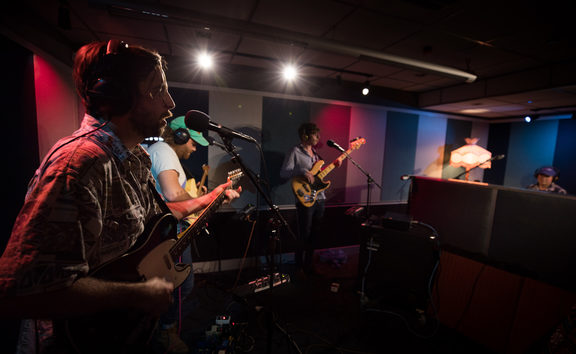 Ha the Unclear perform live in RNZ Auckland Studio B for NZ Live. 31 August 2018.