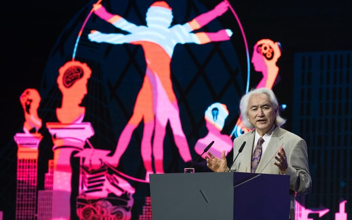 American theoretical physicist Michio Kaku