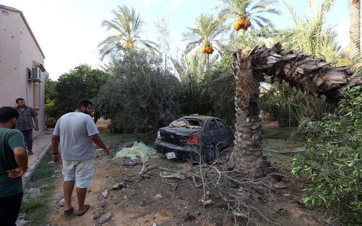 Hundreds escape Libya prison amid deadly clashes in Tripoli