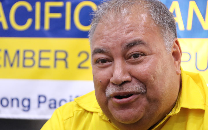 Nauru's President Baron Waqa.