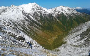 Park Valley (only post glacial valley in the Tararua range)