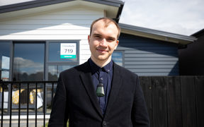 Robert Veale, 24, is one of 40,000 people hoping to step on to the property ladder through the government's Kiwibuild programme.