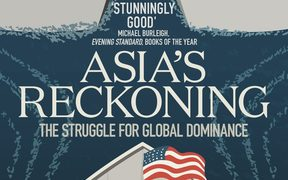 "cover of the book ""Asia's Reckoning"""